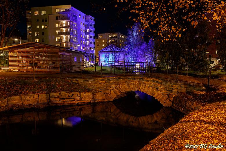 Stenvalvsbron och pumphuset