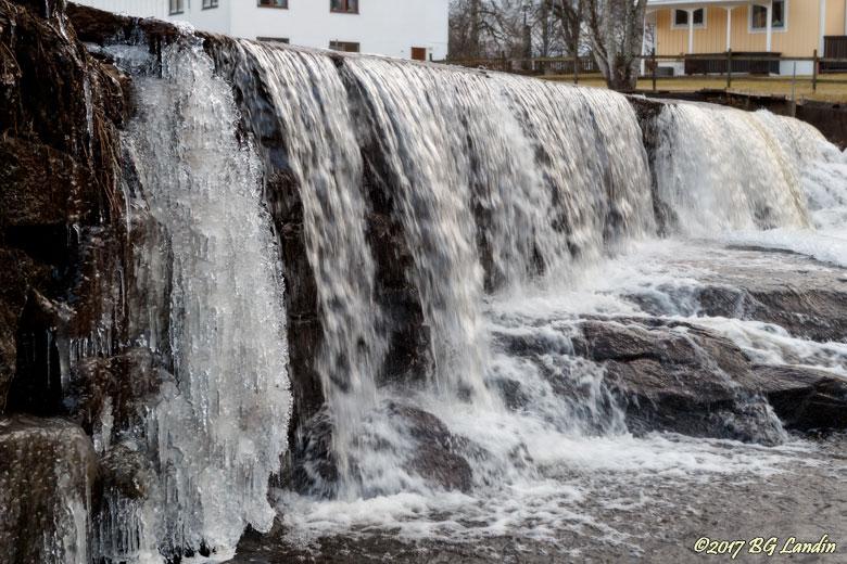 Forsande vatten i Hudene
