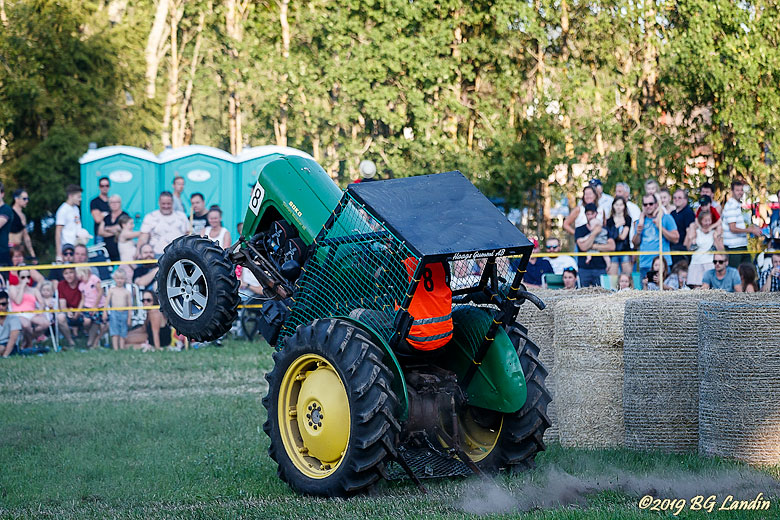 Traktor på två hjul