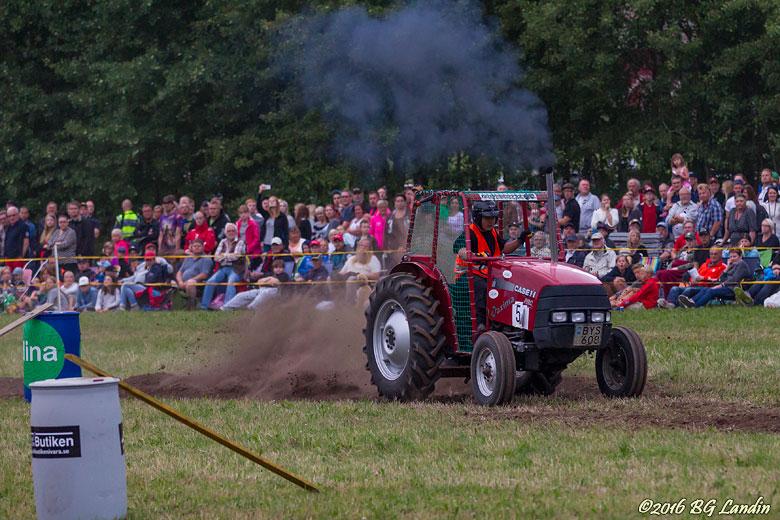 Traktorrace i Södra Lundby 160729