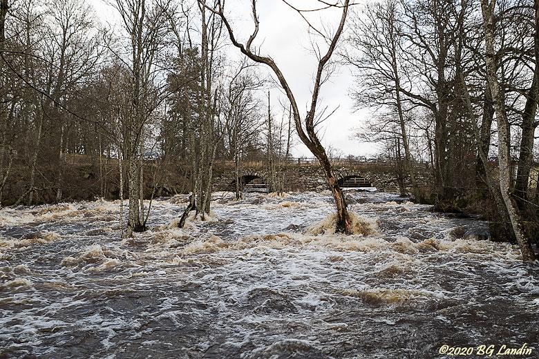Massa vatten i Lagmansholm