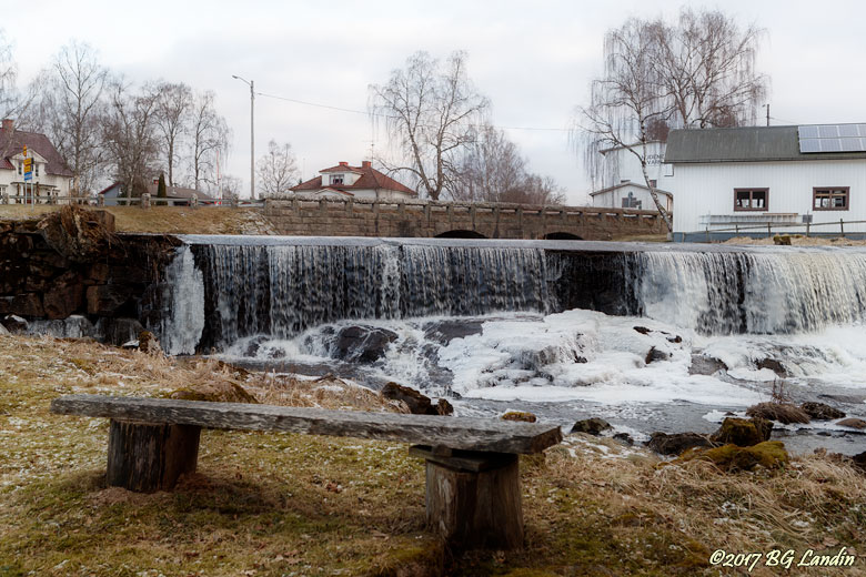 Vattenfall i Hudene