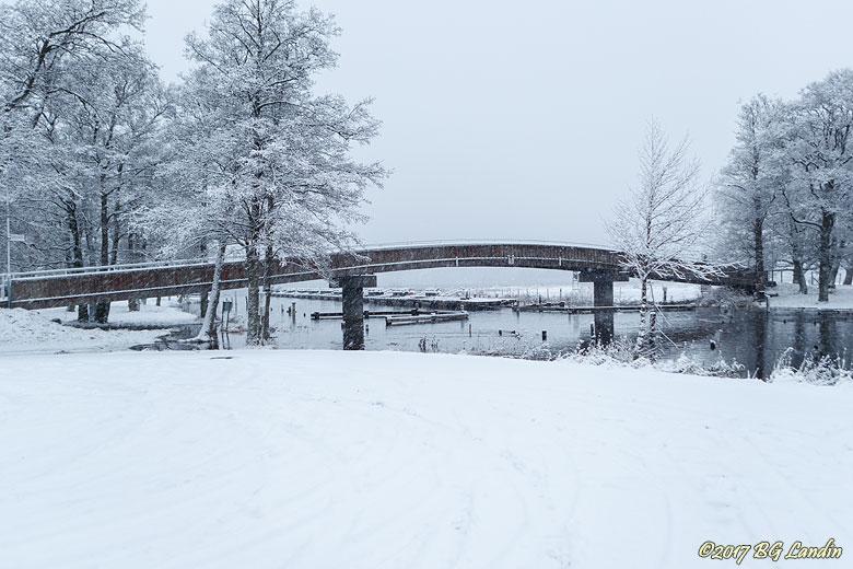 Vinter vid Säveån