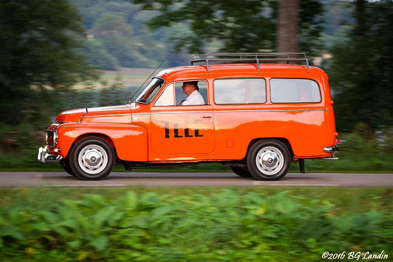 Volvo Duett i Televerkets tjänst