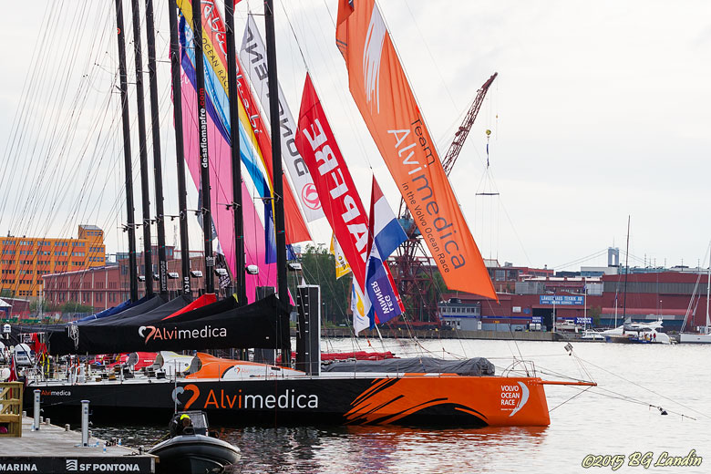 Volvo Ocean race - äntligen i mål!