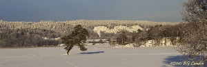 Kvarnbacken i vintersol - 101231