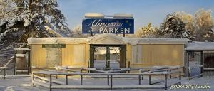 Alingsåsparken i vintersömn - 101231