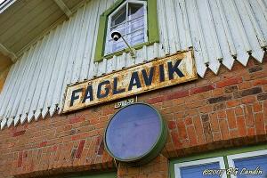 Fåglaviks järnvägsstation - 2007
