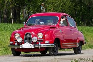 Saab 93 Sport på Nationaldagsrally 2011