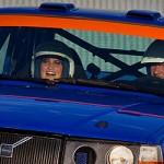 Åka rallybil är sååå kul!