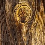 Solbelyst åldrat trä