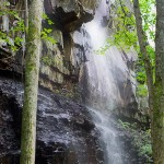 Vattenfall vid Nygårds park