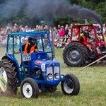 Bilder från traktorrace i Södra Lundby 160729