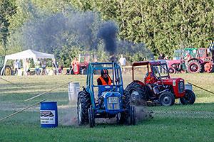 Bilder från Traktorrace i Södra Lundby