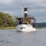 Ångbåtsutflykt med Herbert och David - 210829